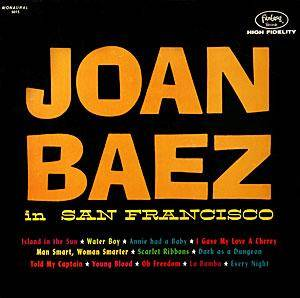 Joan Baez: Joan Baez In San Francisco - Cover
