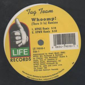 Cover - Tag Team: Whoomp! (There It Is) Remixes