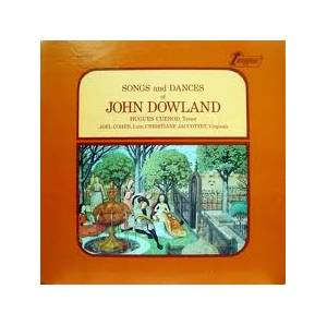 Cover - John Dowland: Songs And Dances Of John Dowland