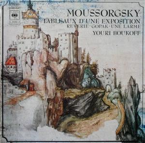 Tableaux d'une Exposition / Reverie - Gopak - Une Larme | LP von Modest  Mussorgski