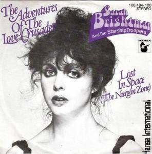 Sarah Brightman & The Starship Troopers: Adventures Of The Love Crusader, The - Cover