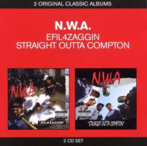 Cover - N.W.A: Niggaz4Life / 100 Miles and Runnin' / Straight Outta Compton