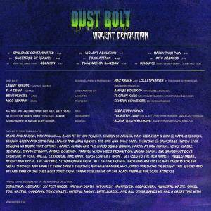 Dust Bolt: Violent Demolition (CD) - Bild 2