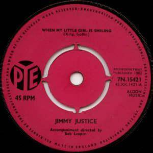 Cover - Jimmy Justice: When My Little Girl Is Smiling