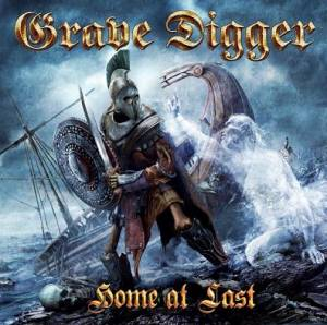 Grave Digger: Home At Last - Cover