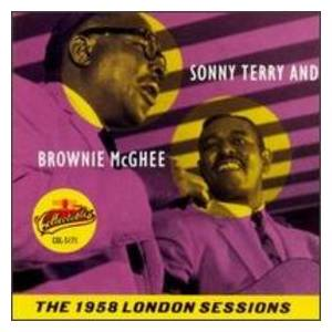 Sonny Terry & Brownie McGhee: 1958 London Sessions, The - Cover