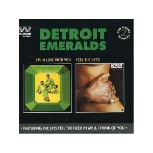 Cover - Detroit Emeralds: I'm In Love With You / Feel The Need