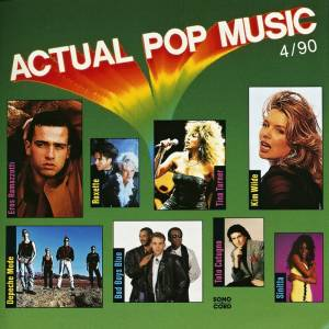 Cover - Lory Bianco: Actual Pop Music 4/90