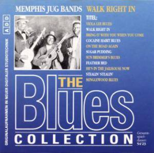Cover - Memphis Jug Band: Blues Collection (41): Walk Right In