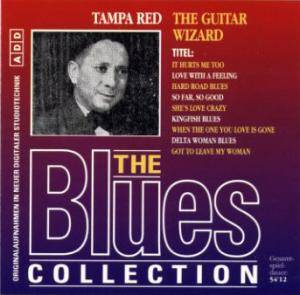 Cover - Tampa Red: Blues Collection (49): The Guitar Wizard