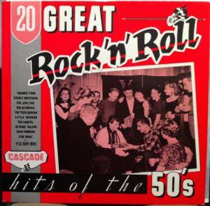 Cover - Jive Five, The: 20 Great Rock 'n' Roll Hits Of The 50's