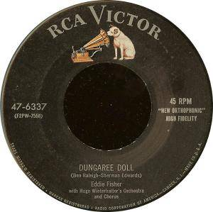 Cover - Eddie Fisher: Dungaree Doll
