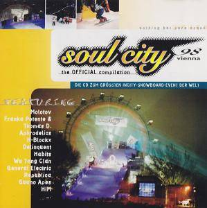 Cover - Dude: Soul City 98 Vienna - The Official Compilation