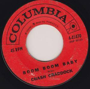 Cover - Billy Crash Craddock: Boom Boom Baby