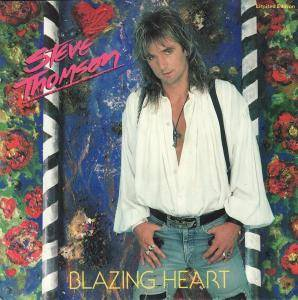 Cover - Steve Thomson: Blazing Heart