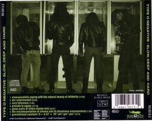 Type O Negative: Slow, Deep And Hard (CD) - Bild 4