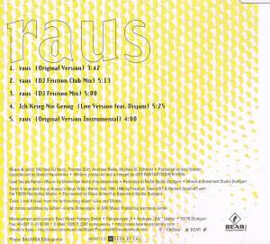 Die Fantastischen Vier: Raus (Single-CD) - Bild 3