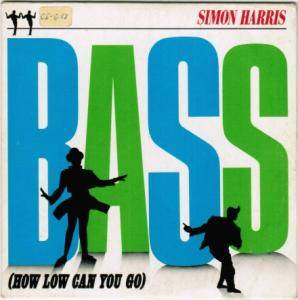 Cover - Simon Harris: Bass (How Low Can You Go)