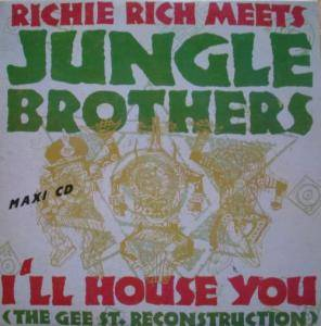 Jungle Brothers: I'll House You - Cover