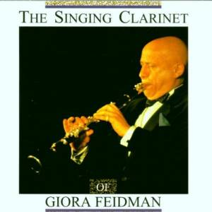 Giora Feidman: Singing Clarinet, The - Cover
