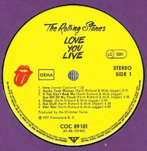 The Rolling Stones: Love You Live (2-LP) - Bild 2