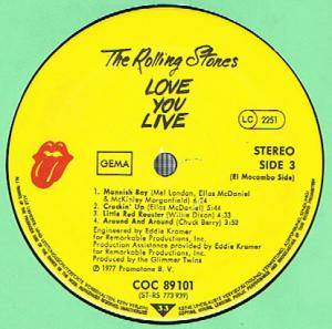 The Rolling Stones: Love You Live (2-LP) - Bild 4