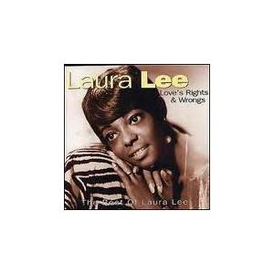 Cover - Laura Lee: Love's Rights & Wrongs - The Best Of Laura Lee