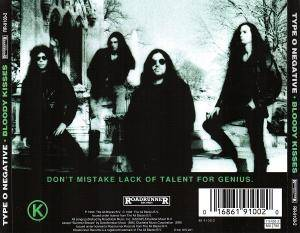 Type O Negative: Bloody Kisses (CD) - Bild 2