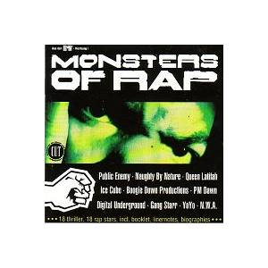 Monsters Of Rap - Cover