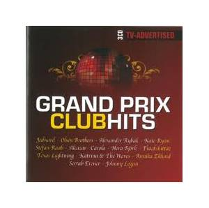 Cover - Charlotte Nilsson: Grand Prix Club Hits