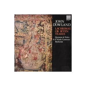 Cover - John Dowland: Lachrimae Or Seven Teares