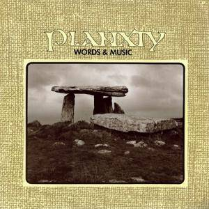 Cover - Planxty: Words & Music