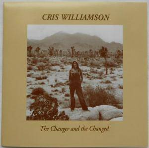 Cris Williamson: Changer and the Changed, The - Cover