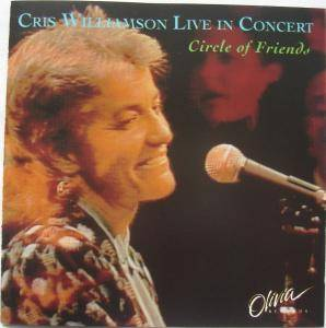 Cris Williamson: Live In Concert Circle Of Friends - Cover