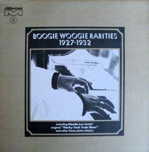Cover - Will Ezell: Boogie Woogie Rarities 1927 - 1932