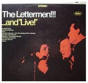 "Cover - Lettermen, The: Lettermen!!!...And ""Live""!, The"