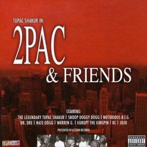Cover - Nate Dogg: 2Pac & Friends