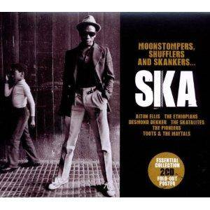 Cover - Alton Ellis & The Flames: Moonstompers, Shufflers And Skankers...Ska