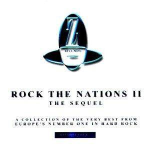 Cover - Burning Rain: Rock The Nations II - The Sequel