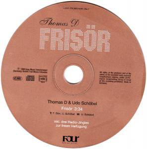 Thomas D: Frisör (Promo-Single-CD) - Bild 3