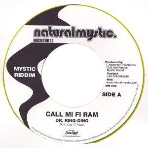 Cover - Dr. Ring-Ding: Call Mi Fi Ram / Burn Babylon