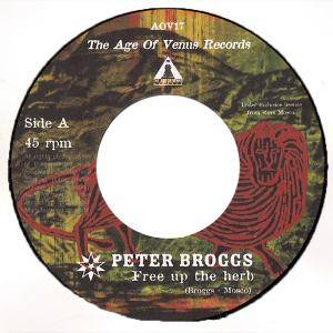 Cover - Peter Broggs: Free Up The Herb