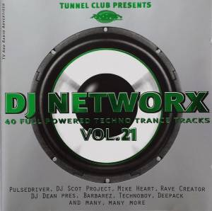 Cover - Hardface: DJ Networx Vol. 21