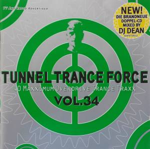 Cover - Silver Liquid: Tunnel Trance Force Vol. 34