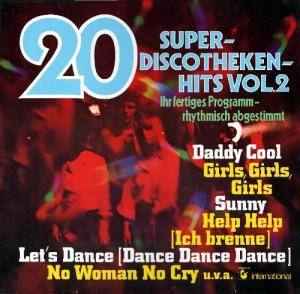 Cover - Leo Wright: 20 Super-Discotheken-Hits Vol. 2