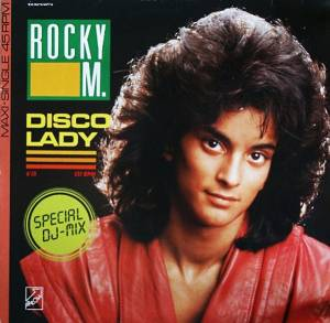 Cover - Rocky M.: Disco Lady