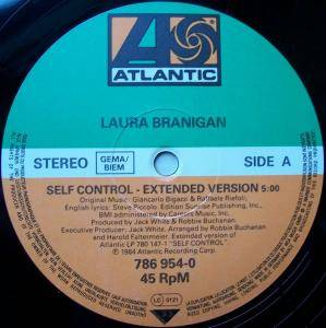 "Laura Branigan: Self Control (12"") - Bild 2"