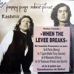 Cover - Jimmy Page & Robert Plant: Kashmir