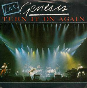 Genesis: Turn It On Again - Live - Cover