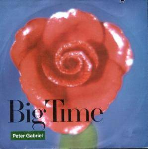 Peter Gabriel: Big Time - Cover